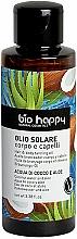 """Voňavky, Parfémy, kozmetika Opaľovací olej """"Kokosová voda a aloe"""" - Bio Happy Hair & Body Tanning Oil Coconut Water And Aloe"""