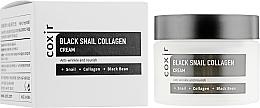 Voňavky, Parfémy, kozmetika Anti-aging výživný krém na tvár - Coxir Black Snail Collagen Cream Anti-Wrinkle And Nourish
