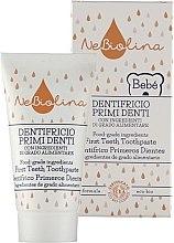 Voňavky, Parfémy, kozmetika Zubná pasta pre prvé zuby - Nebiolina Baby First Teeth Toothpaste