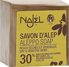Voňavky, Parfémy, kozmetika Mydlo Aleppo s vavrínovým olejom 30% - Najel Aleppo Soap 30% Bay Laurel Oil