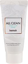 Voňavky, Parfémy, kozmetika Čistiaca pena na tvár - Heimish All Clean White Clay Foam (mini)