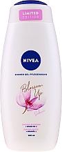"""Výživný sprchový gél """"Arganový olej a sakura"""" - Nivea Blossom Up Argan Oil & Sakura Nourishing Shower Gel Limited Edition — Obrázky N1"""