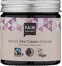 Voňavky, Parfémy, kozmetika Dezodoračný intímny krém - Fair Squared Apricot Deo Cream Intimate