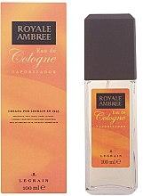 Voňavky, Parfémy, kozmetika Legrain Royale Ambree - Sprejová kolínska voda