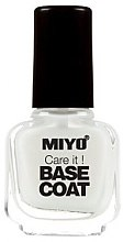 Voňavky, Parfémy, kozmetika Základ pod lak - Miyo Care It Base Coat
