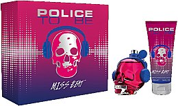 Voňavky, Parfémy, kozmetika Police To Be Miss Beat - Sada (edp/75ml + b/lot/100ml)