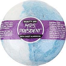 Voňavky, Parfémy, kozmetika Šumivá guľa do kúpeľa s olejom zo sladkých mandlí - Beauty Jar MRS. President