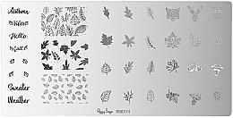Voňavky, Parfémy, kozmetika Šablóny na zdobenie nechtov - Peggy Sage Stamping Plate (1ks)