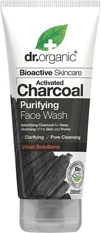 Čistiaci gél na tvár s aktívnym uhlím - Dr. Organic Activated Charcoal Face Wash — Obrázky N1