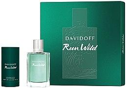 Voňavky, Parfémy, kozmetika Davidoff Run Wild Men - Sada (edt/100ml + deo/70g)