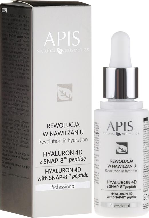Sérum na tvár - APIS Professional Hyaluron 4D + Snap-8 Peptide