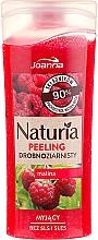 """Voňavky, Parfémy, kozmetika Sprchový peeling jemnozrnný """"Malina"""" - Joanna Naturia Peeling"""