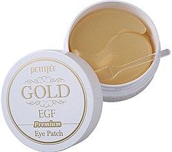 Voňavky, Parfémy, kozmetika Hydrogélové náplasti pod oči Preminum so zlatom a EGF - Petitfee & Koelf Premium Gold & EGF Eye Patch