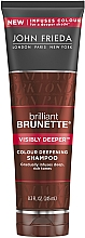 Voňavky, Parfémy, kozmetika Šampón na tmavé vlasy - John Frieda Brilliant Brunette Visibly Deeper Shampoo