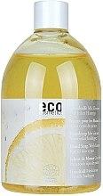 Voňavky, Parfémy, kozmetika Eko mydlo s citrónovým olejom (výmenný blok bez dávkovača) - Eco Cosmetics Eco Hand Soap With Lemon
