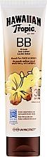 Voňavky, Parfémy, kozmetika Lotion na telo a tvár s SPF ochranou - Hawaiian Tropic BB Cream Sun Lotion Face And Body Spf30