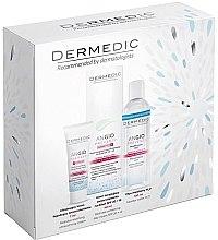 Voňavky, Parfémy, kozmetika Sada - Dermedic Angio (cr/40ml + cr/7ml + micel/water/100ml)