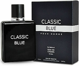 Voňavky, Parfémy, kozmetika Mirage Brands Classic Blue - Toaletná voda
