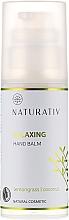 Voňavky, Parfémy, kozmetika Hydratačný krém na ruky - Naturativ Relaxing Hand Balm Lemongrass