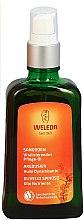 Voňavky, Parfémy, kozmetika Výživný sprejový rakytníkový olej na telo - Weleda Sanddorn Vitalisierendes Pflegeol Dispenser