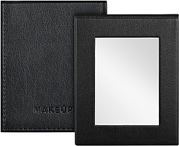Voňavky, Parfémy, kozmetika Kozmetické skladacie vreckové zrkadlo, čierne - MakeUp Pocket Mirror Black