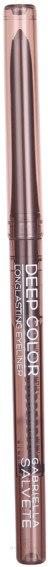 Ceruzka na oči - Gabriella Salvete Deep Color Eyeliner — Obrázky 02 - Dark Brown