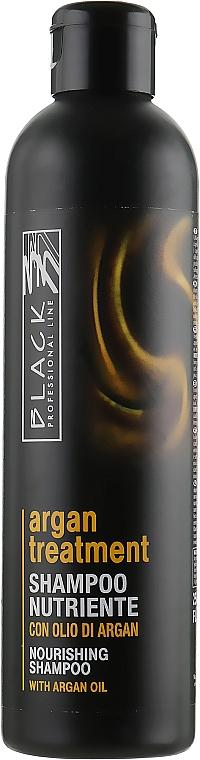Šampón s arganovým olejom, keratínom a kolagénom - Black Professional Line Argan Treatment Shampoo