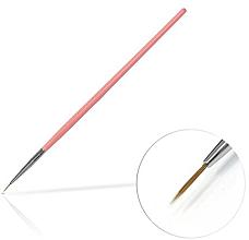 Voňavky, Parfémy, kozmetika Štetec na šperky, 6 mm Pink - Silcare Brush 0