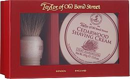 Voňavky, Parfémy, kozmetika Sada - Taylor of Old Bond Street Cedarwood (sh/brash + sh/cream/150g)