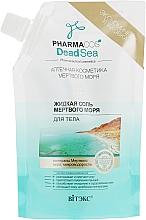 Voňavky, Parfémy, kozmetika Tekutá soľ z Mŕtveho mora - Vitex Dead Sea Salt