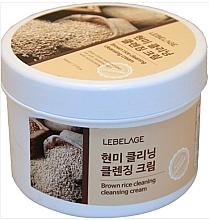 Voňavky, Parfémy, kozmetika Čistiaci krém s hnedou ryžou  - Lebelage Brown Rice Cleaning Cleansing Cream
