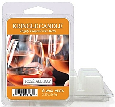 Voňavky, Parfémy, kozmetika Aromatický vosk pre vonnú lampu - Kringle Candle Rose All Day Wax Melts
