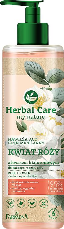"""Hydratačná micelárna voda """"Kvet ruže"""" - Farmona Herbal Care Micellar Water"""