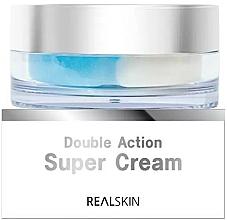 Voňavky, Parfémy, kozmetika Krém na tvár - Real Skin Double Action Super Cream