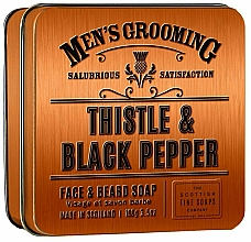 Voňavky, Parfémy, kozmetika Scottish Fine Soaps Men's Grooming Thistle & Black Pepper - Mydlo