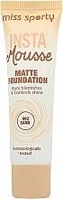 Voňavky, Parfémy, kozmetika Tonálny krém matný - Miss Sporty Insta Mousse Matte Foundation