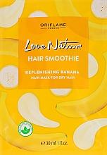 """Voňavky, Parfémy, kozmetika Hydratačná maska-smoothie pre suché vlasy """"Banán"""" - Oriflame Love Nature Hair Smoothie"""