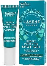 Voňavky, Parfémy, kozmetika Gél proti akné - Lumene Puhdas Deeply Purifying Spot Gel