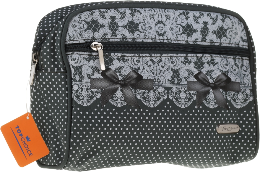 Kozmetická taška 96112, zelená - Top Choice — Obrázky N1