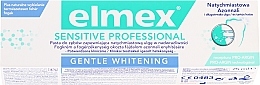 Voňavky, Parfémy, kozmetika Zubná pasta - Elmex Professional Sensitive Professional Gentle Whitening