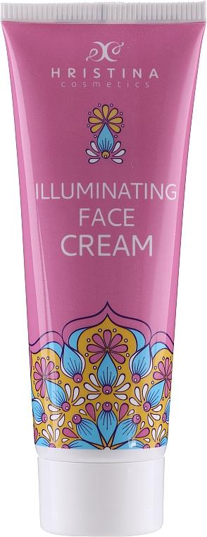 Rozjasňujúci krém na tvár - Hristina Cosmetics Illuminating Face Cream