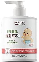"""Voňavky, Parfémy, kozmetika Detské tekuté mydlo """"Zjemenenie a výživa"""" - Wooden Spoon Natural Hand Wash"""