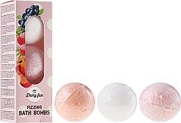 Voňavky, Parfémy, kozmetika Šumivé gule do kúpeľa - Delia Dairy Fun Milky Bath Balls