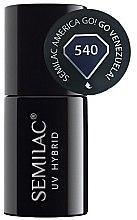 Voňavky, Parfémy, kozmetika Lak na nechty - Semilac UV Hybrid America Go!