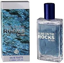 Voňavky, Parfémy, kozmetika Real Time Pure On The Rocks For Men - Toaletná voda
