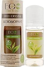 """Voňavky, Parfémy, kozmetika Telový deodorant """"Dubová kôra a zelený čaj"""" - ECO Laboratorie Deo Crystal"""