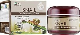 Voňavky, Parfémy, kozmetika Krém na tvár s extraktom zo slimačieho mucínu - Ekel Ample Intensive Cream Snail