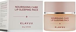 Voňavky, Parfémy, kozmetika Nočná maska na pery - Klavuu Nourishing Care Lip Sleeping Pack