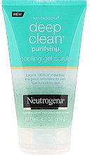 Voňavky, Parfémy, kozmetika Gélový scrub na tvár - Neutrogena Skin Detox Cooling Gel Scrub
