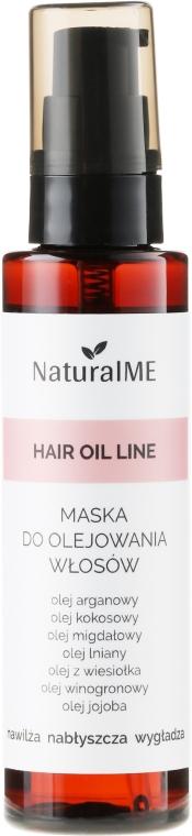 Sprejová maska pre poškodené vlasy - NaturalME Hair Oil Line